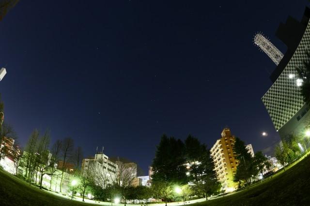 仙台錦町公園星空1