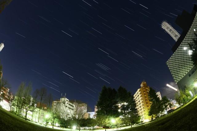 仙台錦町公園星空2