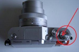 ルミックスGF9&GF10カメラ上部