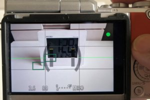 LUMIX GF10 液晶画面