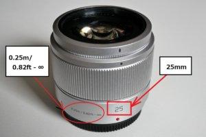 LUMIX G 25mm