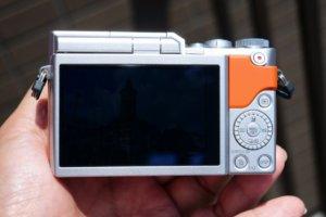 ルミックスGF9液晶画面